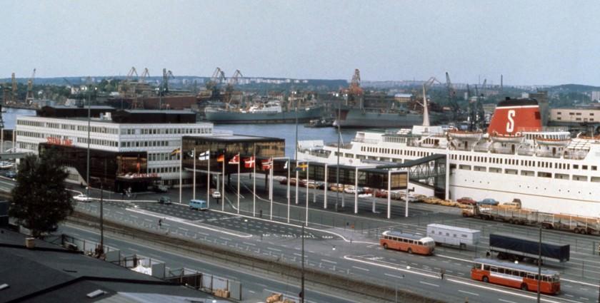 Stena Line terminalen 1972