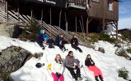 Familieskitur til Kvitfjell