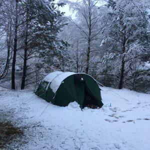 Camping ved Preikestolen