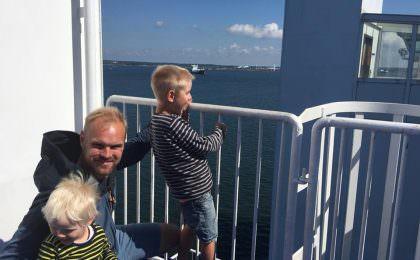 Familie på tur med STena Line