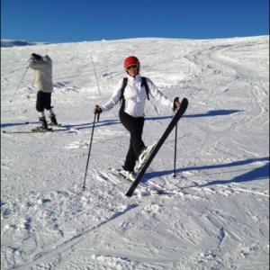 På skiferie i Norefjell