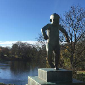 Vigelandsparken i Oslo