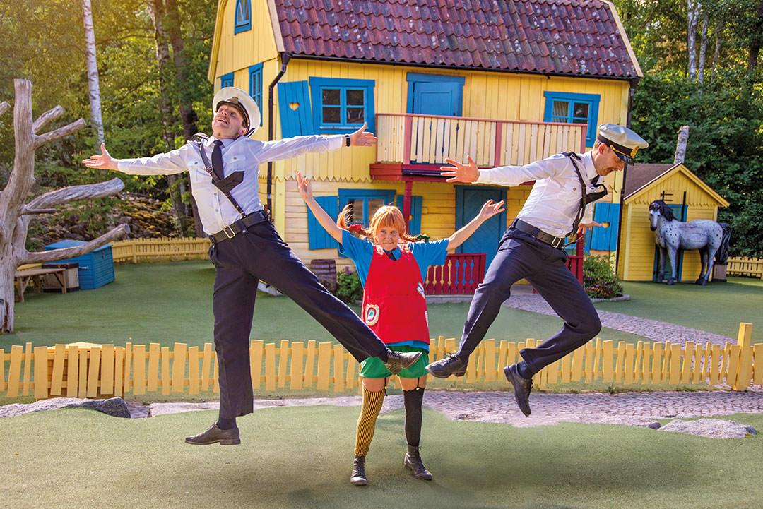Sjov med Pippi i Astrid Lindgrens Verden