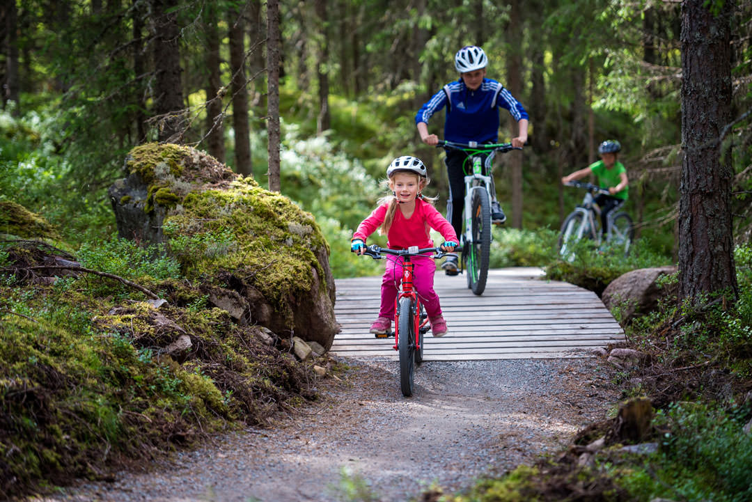 Sti-cykling for hele familien i Trysil
