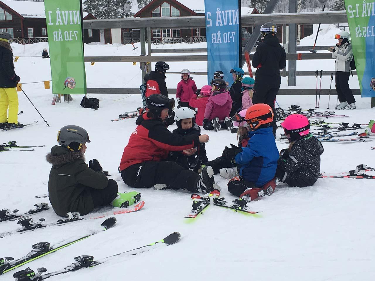 Skiskole for børnene