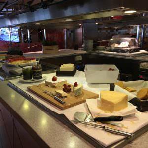 Buffeten i Restaurant Taste om aftenen