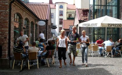 Halmstad til shopping, aktiviteter og naturoplevelser