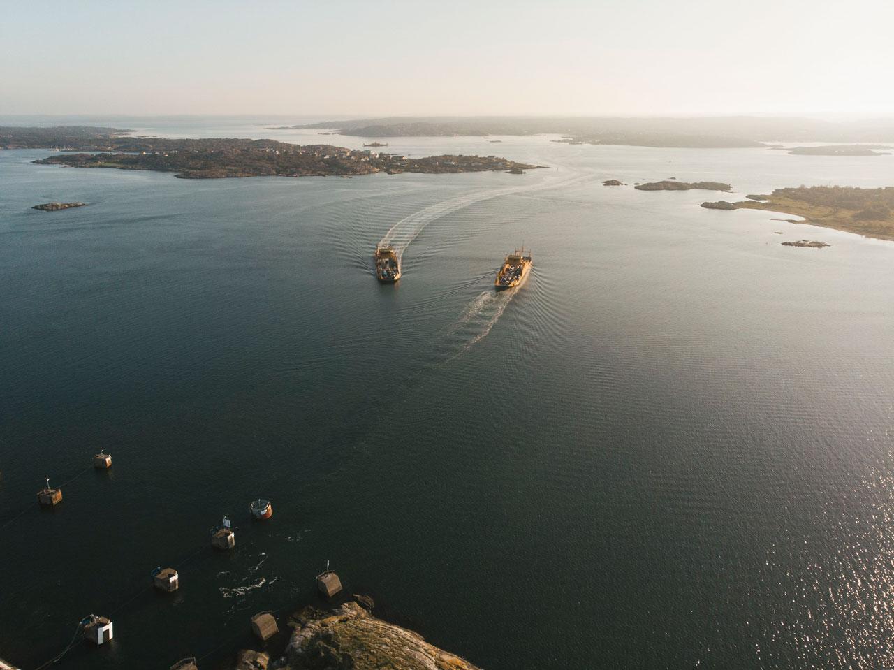 Færge til Hönö