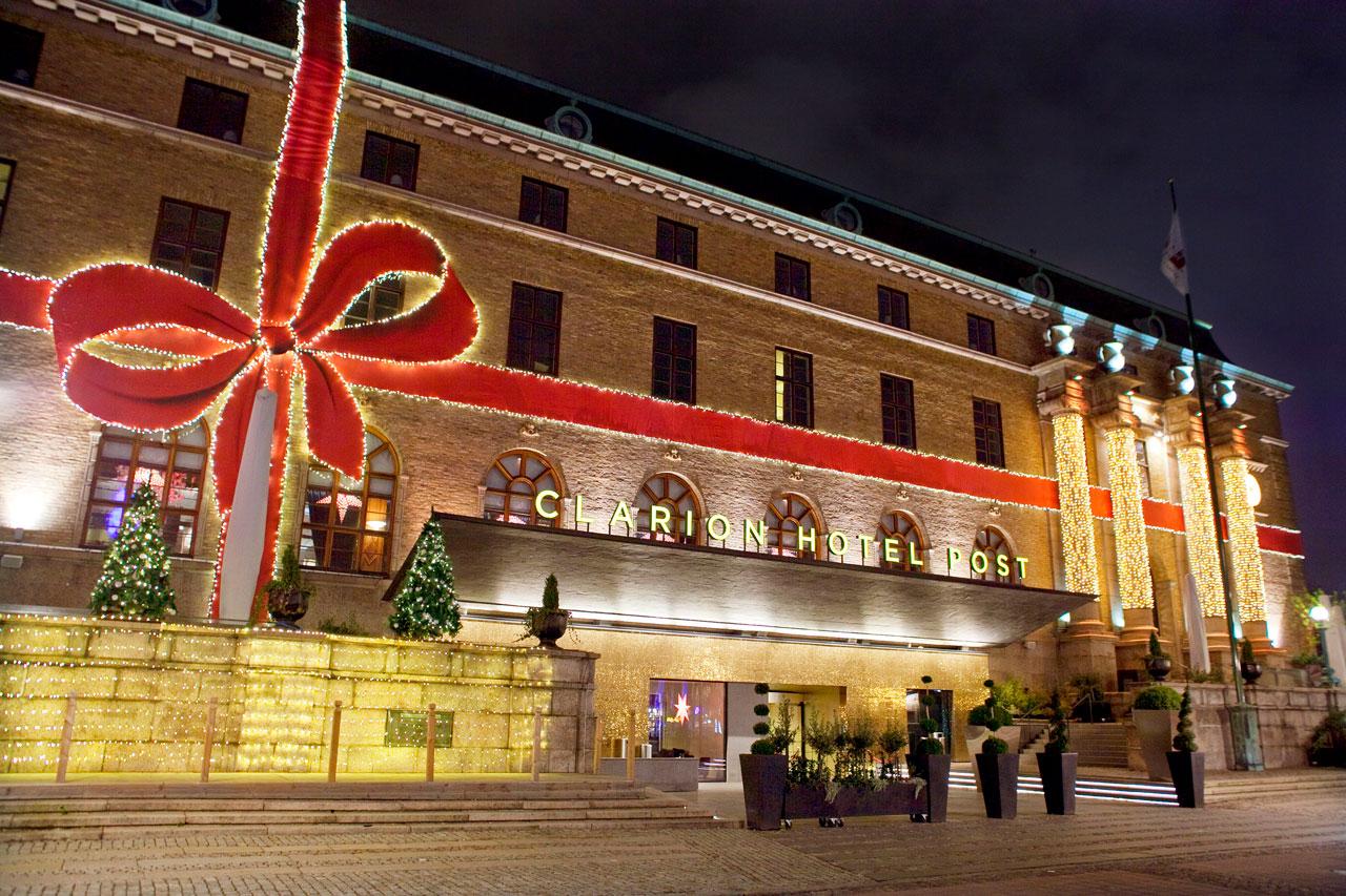 Clarion Post Hotel i juleskrud