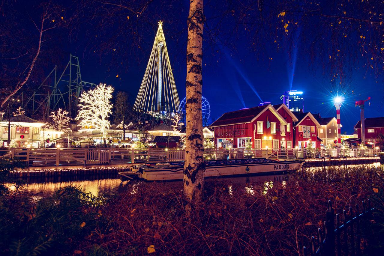 Jul i Liseberg